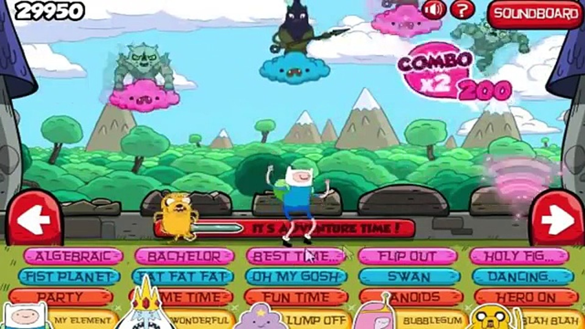 Adventure Time - Sound Castle - Adventure Time Games