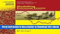 [Read Book] Modelling Extremal Events: for Insurance and Finance (Stochastic Modelling and Applied