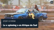 """Afrique du Sud : le """"spinning"""", des cascades automobiles reconnues comme sport extrême"""