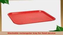 Carlisle CT10148161 Polypropylene Cafe Standard Tray 1387 x 1075 Burgundy Case of 4 bfd5b429