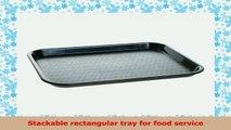 Carlisle CT10148103 Polypropylene Cafe Standard Tray 1387 x 1075 Black Case of 4 87c1301b