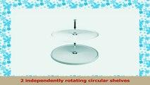 RevaShelf Full Circle Polymer 2Shelf Independently Rotating Lazy Susan d11468d5