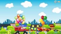 Racing Cars FUN HOT CHALLENGE - Bip Bip Cars & Trucks Cartoon for Kids - Cars & Trucks for children