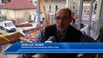 Hautes-Alpes : de nouveaux murs sortent de terre au lycée Dominique Villars à Gap