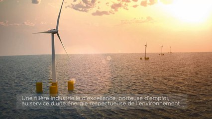 Ferme pilote d'éoliennes flottantes de Groix