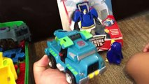 Transformers Rescue Bots Toys Chase Toy Police Car For Kids - Playskool Heroes Transformers Unboxing