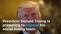 White House preparing to expand social media team