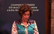 Discurs filla Muriel Casals