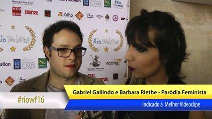 RIOWF16 Tapete Vermelho - Videoclipe Paródia Feminista