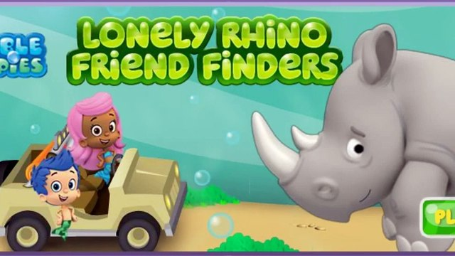 Bubble Guppies Full Episodes Games - Bubble Guppies Lonely Rhino Friend Finders HD