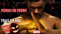 TV IRON FIST Punho de Ferro série tv trailer movie Season 1 Marvel Netflix