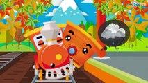 Trenes Para Niños - Dibujos Animados Educativos - Caricaturas de trenes - Vídeos de Trenes