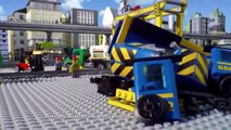 Lego City - Cargo Train 60052 & High-Speed Passenger Train 60051