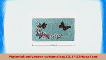 YUFENG Butterfly Place mats For Dinner Table And Kitchen Table13inch18inch 28889e66