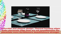Mint Cook Placemat Washable Table Place Mats for Dining Table or KitchenWoven Vinyl Heat 601af6f1