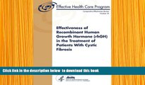 Audiobook  Effectiveness of Recombinant Human Growth Hormone (rhGH) in the Treatment of Patients