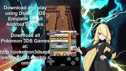 download pokemon x for android 3ds