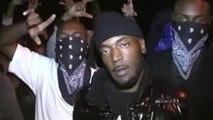 Mexican Gang VS Black Street Gang Gangster War