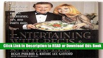 PDF [FREE] DOWNLOAD Entertaining With Regis   Kathie Lee: Year-Round Holiday Recipes, Entertaining