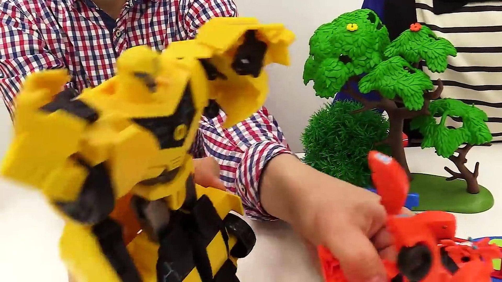 #Трансформеры - Битва НЕРФ  АВТОБОТЫ против ДЕСЕПТИКОНОВ Видео Дети и Родители -mteks5B60ZI