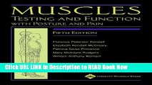 Best PDF Muscles: Testing and Function, with Posture and Pain (Kendall, Muscles) ePub