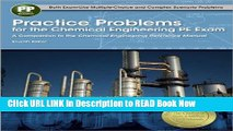 Get the Book Practice Problems for the Chemical Engineering PE Exam, 7th Ed iPub Online