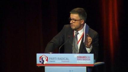 Discours de Bertrand PANCHER, Vice Président du Parti Radical - 116e CONGRES - 04 février 2017