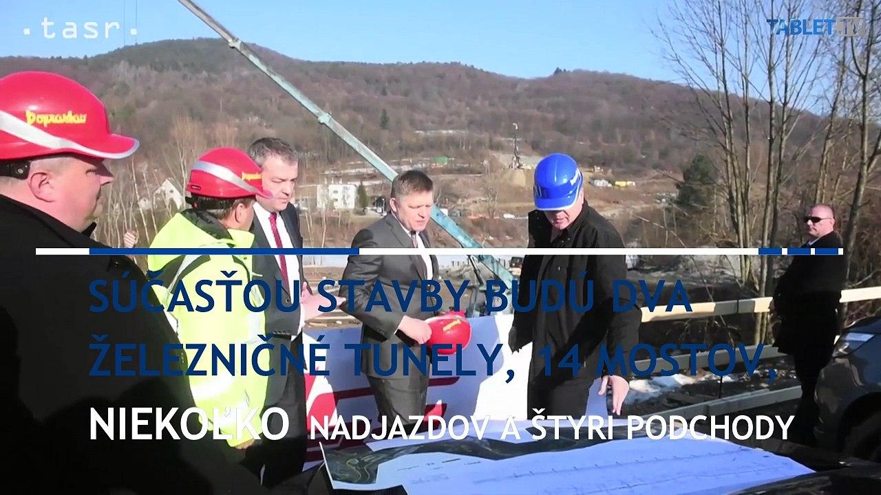 Železničný úsek medzi Púchovom a P. Teplou zrekonštruujú do februára 2020
