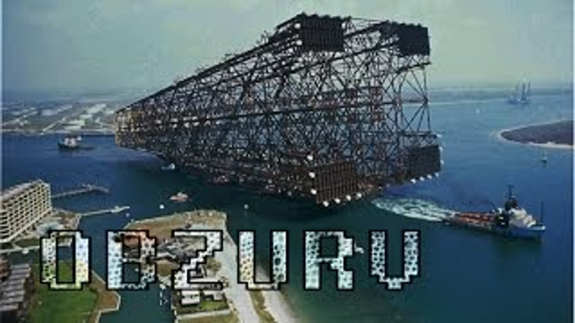 HOW THE BIGGEST OIL RIGS ARE MADE---Full OBZURV Documentary