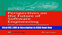 [Popular Books] Perspectives on the Future of Software Engineering: Essays in Honor of Dieter