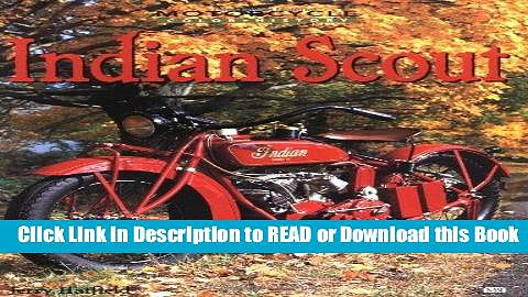 Books Indian Scout (Motorcycle Color History) Free Books