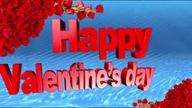 Happy Valentine's Day 2017 Wishes.Whatsapp Valentines Greetings-3d Animation--Hyder Ali@ - YouTube
