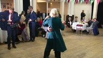Duchess of Cornwall shows off her swing dancing moves