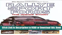 Read Book Rallye Sport Fords: The inside story Download Online