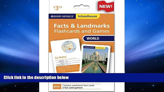 Download [PDF]  Rand Mcnally Schoolhouse World Facts   Landmarks Flashcards And Games Trial Ebook
