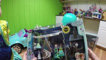 World's Biggest FROZEN Surprise Egg Toys Opening Spider-Man vs Anna PowerWheels Toy Roller Skates