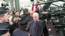Émeutes: Le Roux rencontre les policiers à Sarcelles