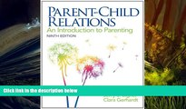 PDF  Parent-Child Relations: An Introduction to Parenting (9th Edition) Jerry J. Bigner Pre Order