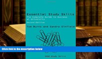 Read Online Essential Study Skills: The Complete Guide to Success at University (SAGE Study Skills