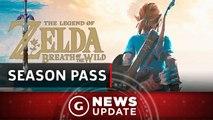 Legend Of Zelda: Breath Of The Wild DLC Pass Announced - GS News Update