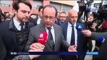 François Hollande tente d'éteindre le feu dans les banlieues