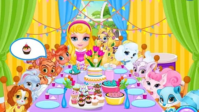 Baby Barbie Palace Pets PJ Party - Palace Pets Games for Kids