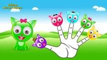 The Finger Family Cat Family Nursery Rhyme | Kids Finger Rhymes Songs | Cat Cartoon