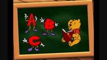 alfabeto italiano per bambini - canzone dell abc per bimbi - scuola divertente - winnie the pooh