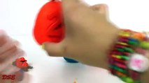 Learn Counting Numbers 1 to 5 with Playdough Surprise Eggs Fun Learning Videos for Young Kids