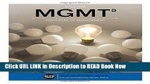 [Popular Books] MGMT  (with MGMT Online, 1 term (6 months) Printed Access Card) (New, Engaging