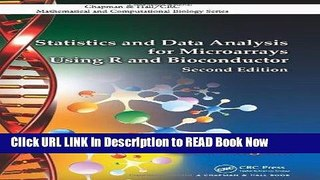 Best PDF Statistics and Data Analysis for Microarrays Using R and Bioconductor, Second Edition