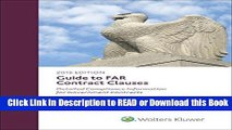 PDF [FREE] DOWNLOAD Guide to FAR Contract Clauses: Detailed Compliance Information for Government