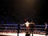 Kane Vs Mark Henry Live at Smackdown Live Tour Paris Bercy