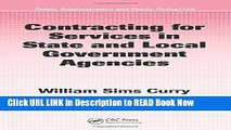 [Popular Books] Contracting for Services in State and Local Government Agencies (Public